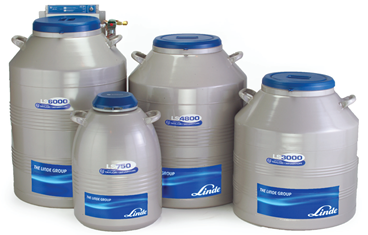 LS-series Laboratory solution for storing samples in liquid nitrogen